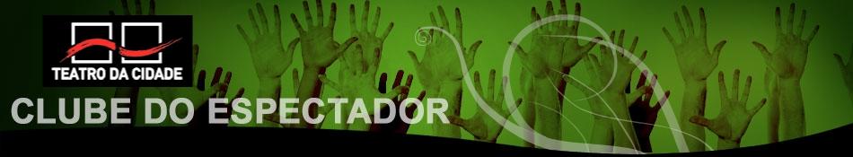 Banner Clube do Espectador Teatro da Cidade